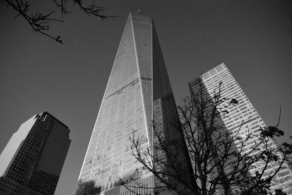 One World Trade Center in New York City. Picture made by Mehdi Guenin.